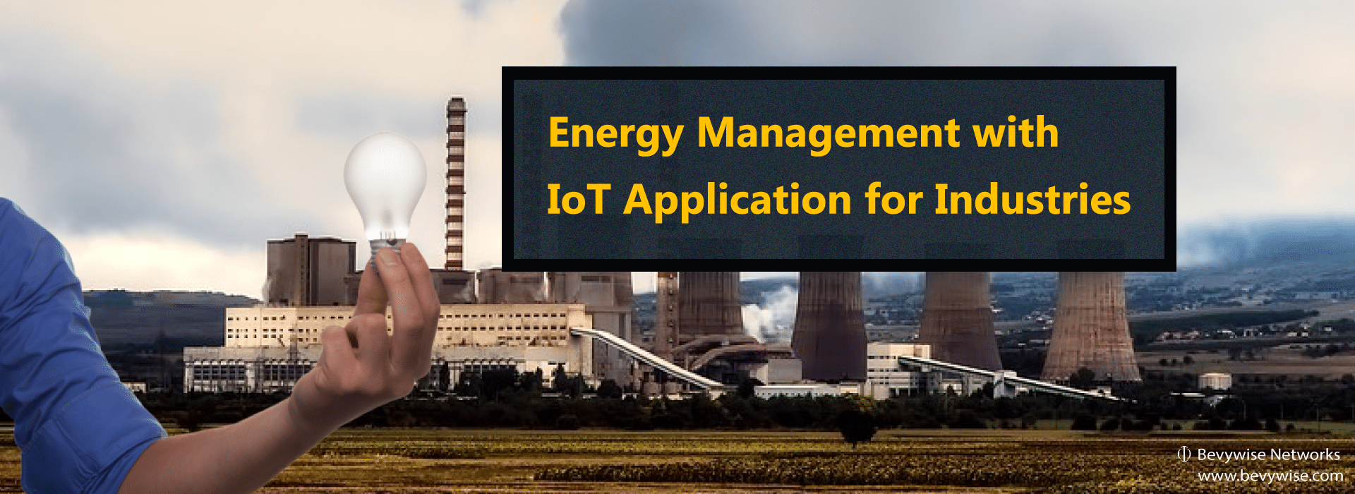 Energy management with IoT application in Industries