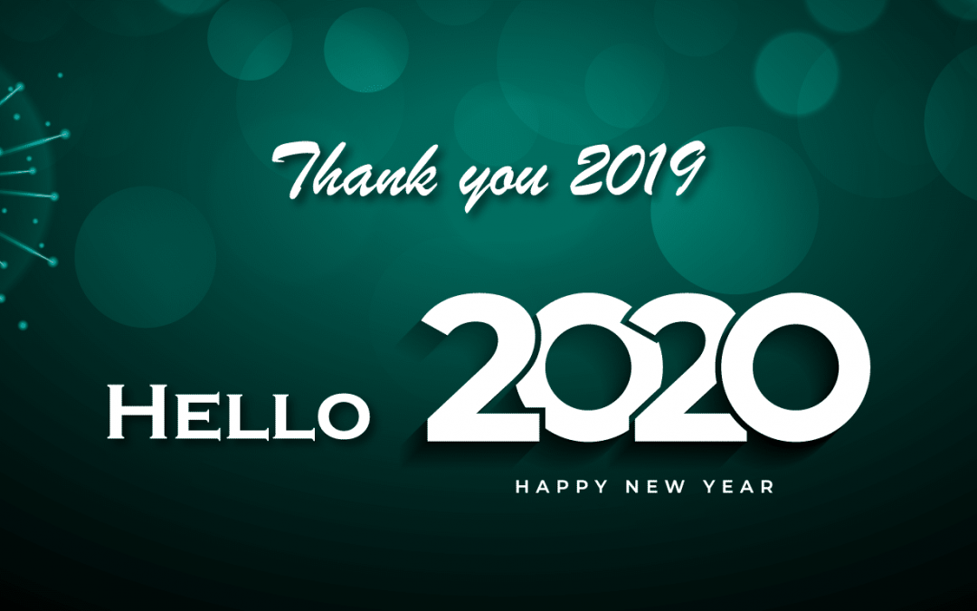 Thank You 2019, Hello 2020!