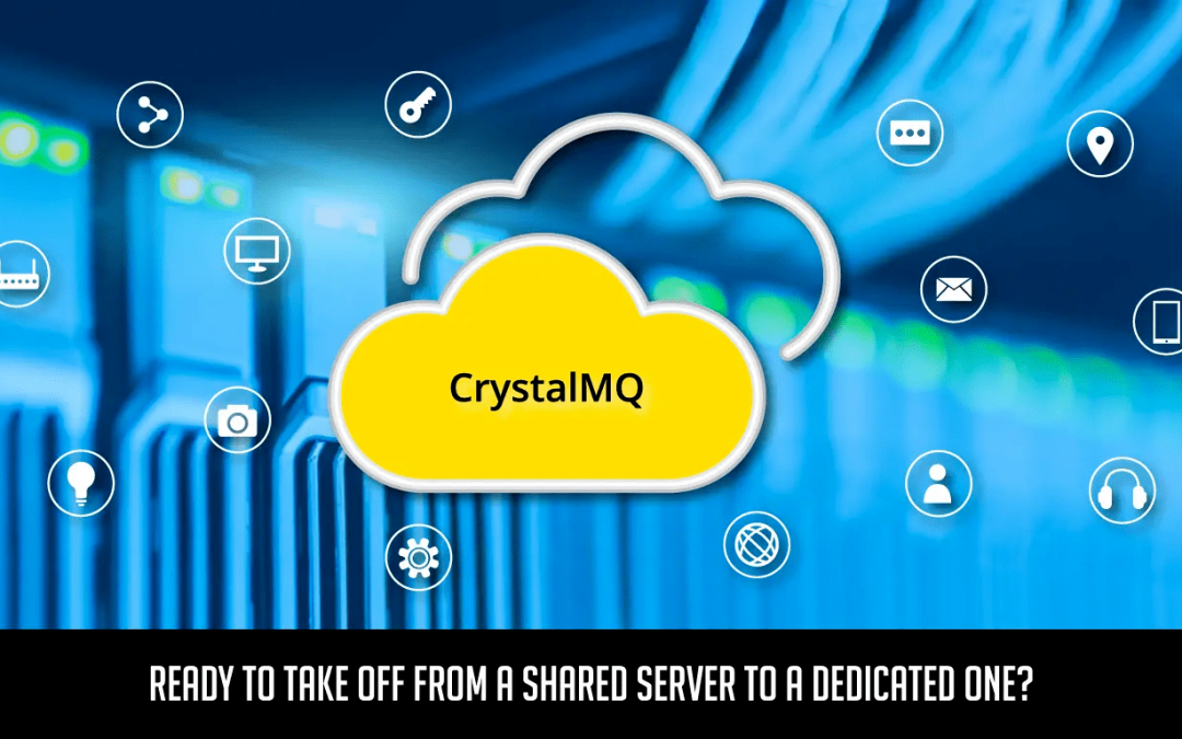 Ready to take off from a shared server to a dedicated one?