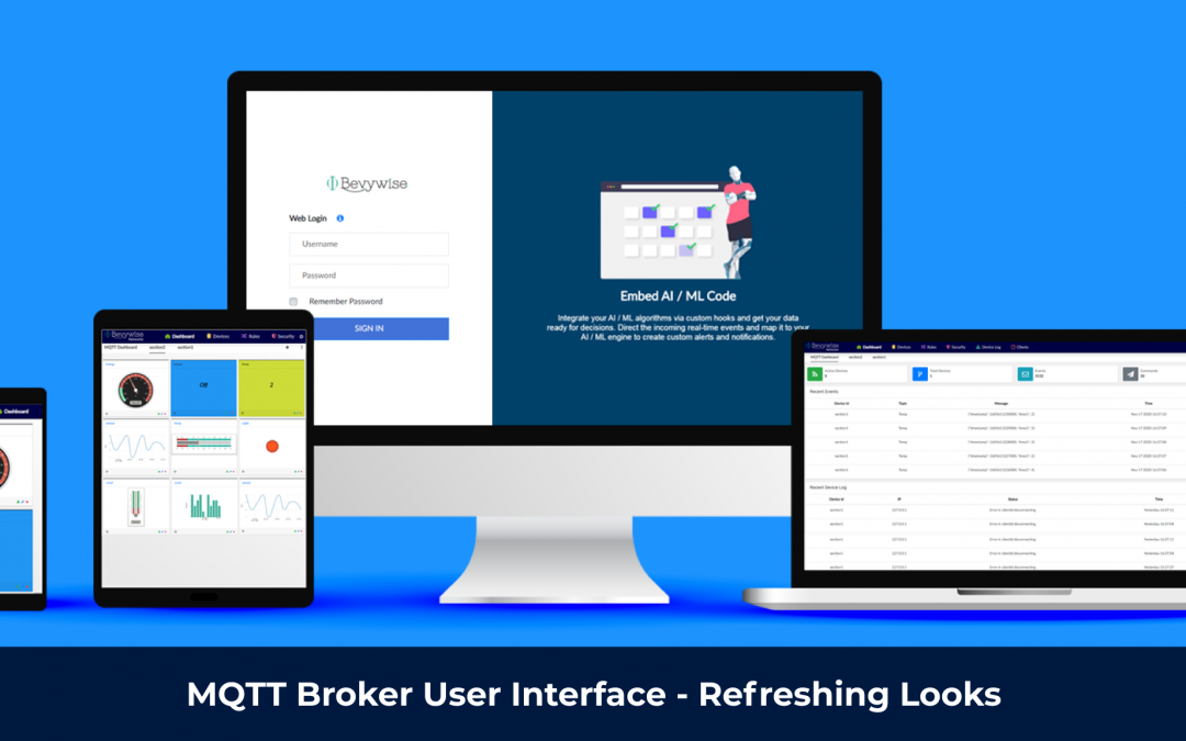 MQTT Broker Web interface – Refreshing Looks